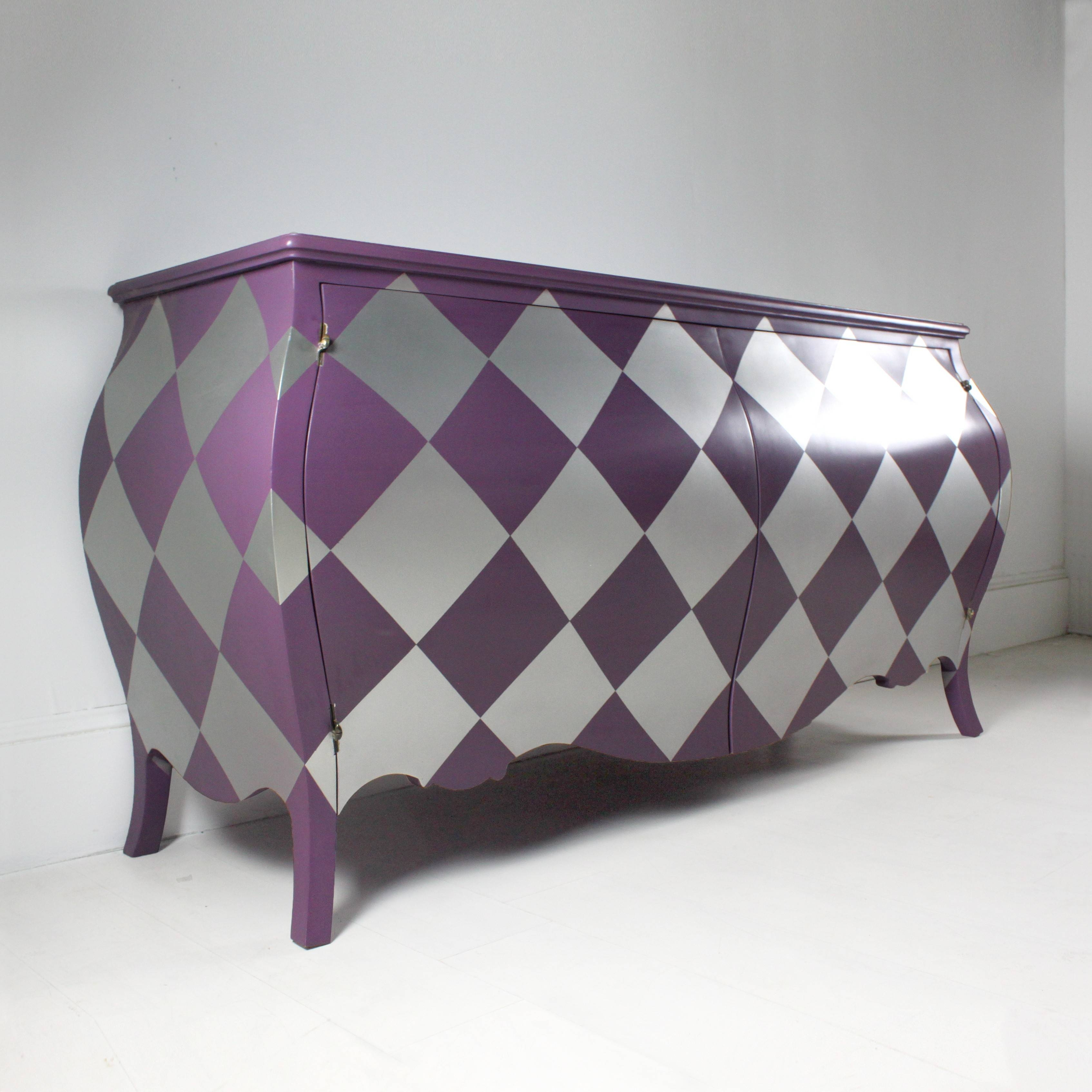 Harlequin Sideboard In Purple With Purple Sideboard (#8 of 20)