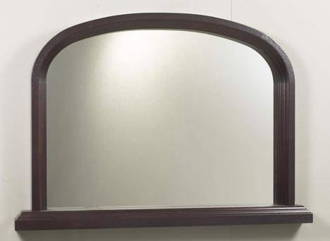 Havelwood Solid Wood Overmantle Mirror In Wooden Overmantle Mirrors (#24 of 30)