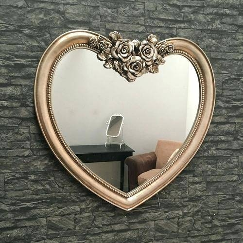 Heart Shaped Mirror For Wall – Shopwiz With Regard To Heart Shaped Mirrors For Wall (#9 of 20)