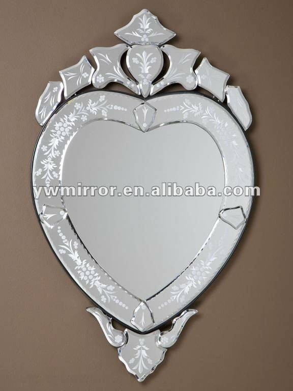 Heart Shaped Wall Decoration, Heart Shaped Wall Decoration Pertaining To Heart Shaped Mirrors For Wall (View 12 of 20)