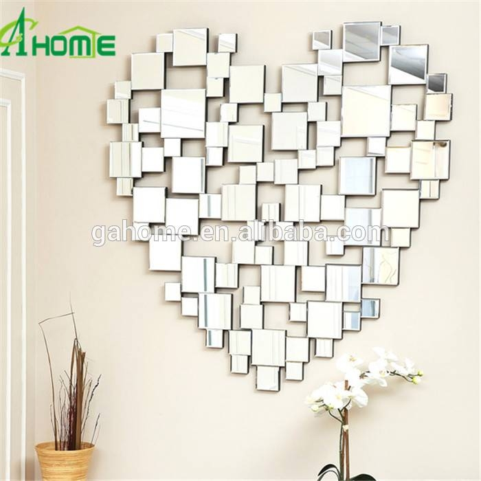Heart Shaped Wall Mirrors, Heart Shaped Wall Mirrors Suppliers And In Heart Shaped Mirrors For Walls (View 10 of 30)