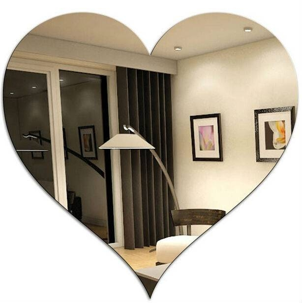 Heart Shaped Wall Mirrors, Heart Shaped Wall Mirrors Suppliers And Intended For Heart Shaped Mirrors For Walls (View 22 of 30)