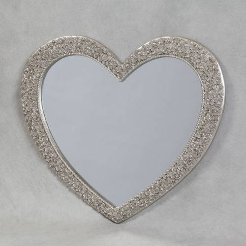 Hearth Mirrors Regarding Heart Shaped Mirrors For Walls (View 23 of 30)
