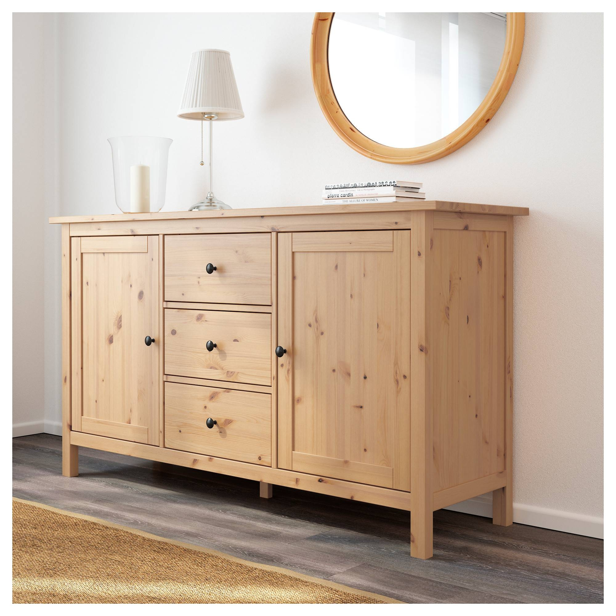 Hemnes Sideboard – White Stain – Ikea Pertaining To Sideboard White (#8 of 20)
