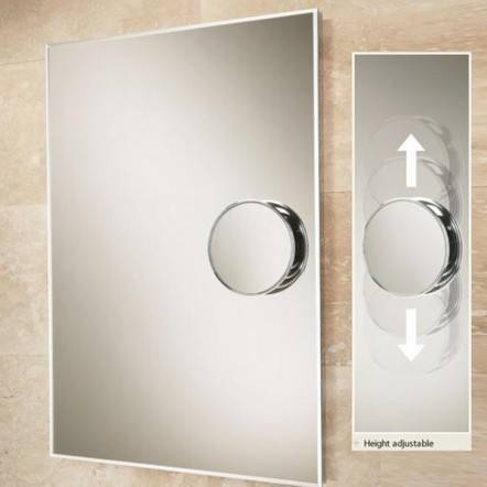 Hib Optical Bevelled Edge Bathroom Mirror Within Bevelled Edge Bathroom Mirrors (#10 of 20)