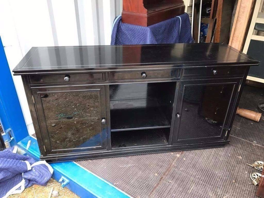 Inspiration about High Gloss Black Sideboard | In Honiton, Devon | Gumtree With High Gloss Black Sideboard (#8 of 20)