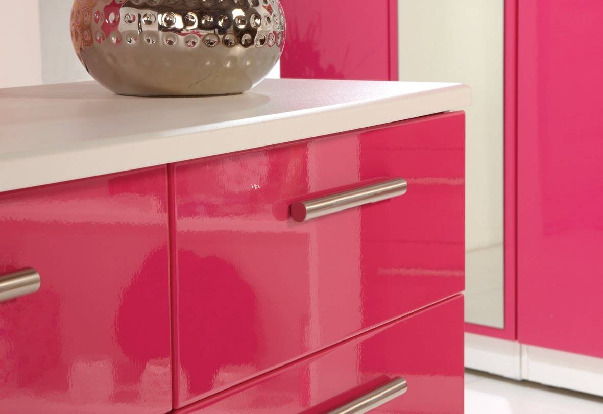 High Gloss Furniture Finishes – Amish Direct Furniture With Regard To Red High Gloss Sideboard (View 17 of 20)