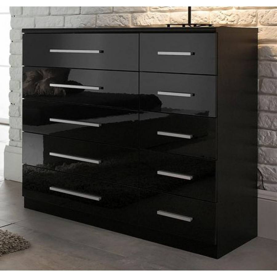 High Gloss Furniture Intended For Black High Gloss Sideboards (#12 of 20)