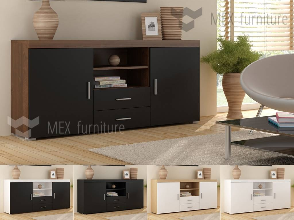 High Gloss Sideboard – Mex Furniture With High Sideboards (View 4 of 20)
