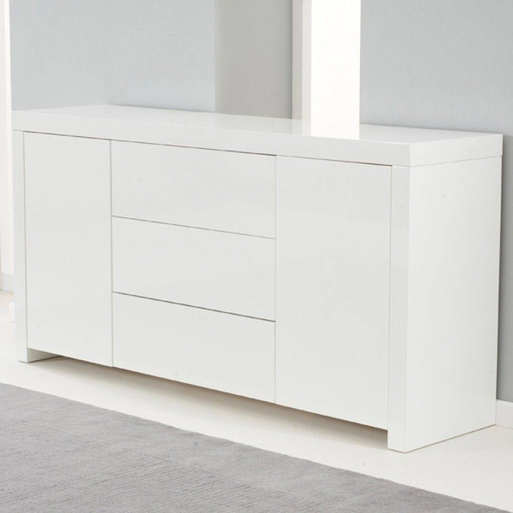 Popular Photo of Gloss White Sideboard