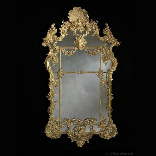 Hinges Wood Rococo – The Uk's Premier Antiques Portal – Online Within Large Rococo Mirrors (View 26 of 30)