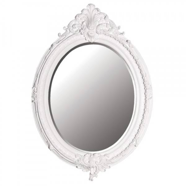 Home And Pantry: Mirror, Mirror On The Wall Intended For Oval White Mirrors (#15 of 30)