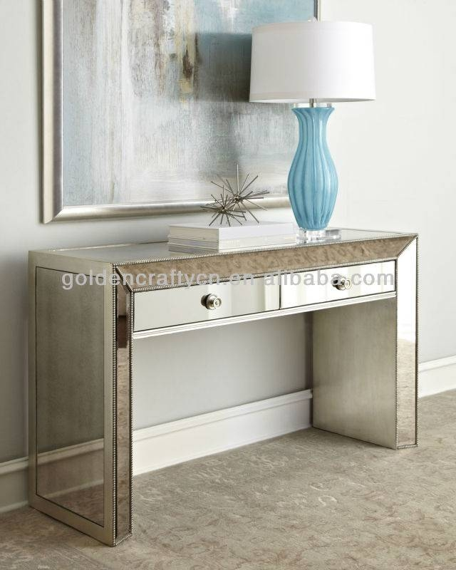Home Decor Venetian Mirrored Console Table – Buy Mirrored Dressing In Venetian Dressing Table Mirrors (#14 of 30)
