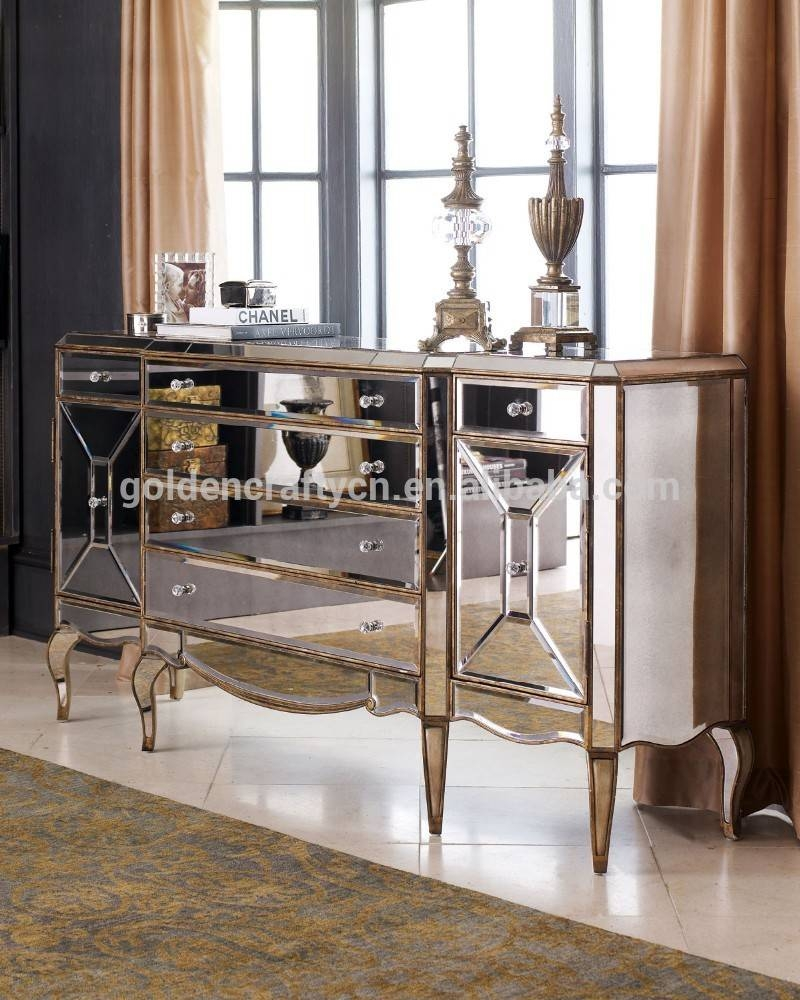 Home Decor Venetian Mirrored Sideboard Cabinet – Buy Home Decor With Regard To Venetian Mirrored Sideboard (#4 of 20)
