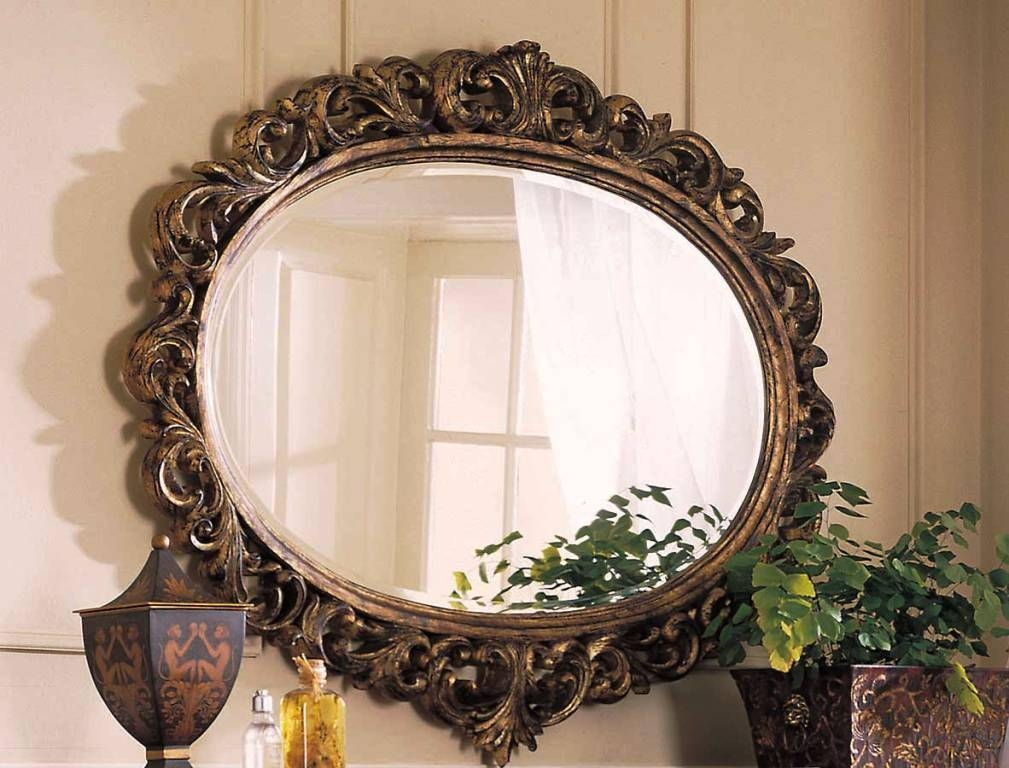 Home Decorative Mirrors Contemporary Pertaining To Decorative Mirrors (View 13 of 30)