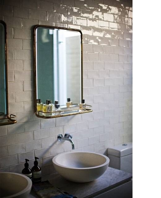 Popular Photo of Deco Bathroom Mirrors