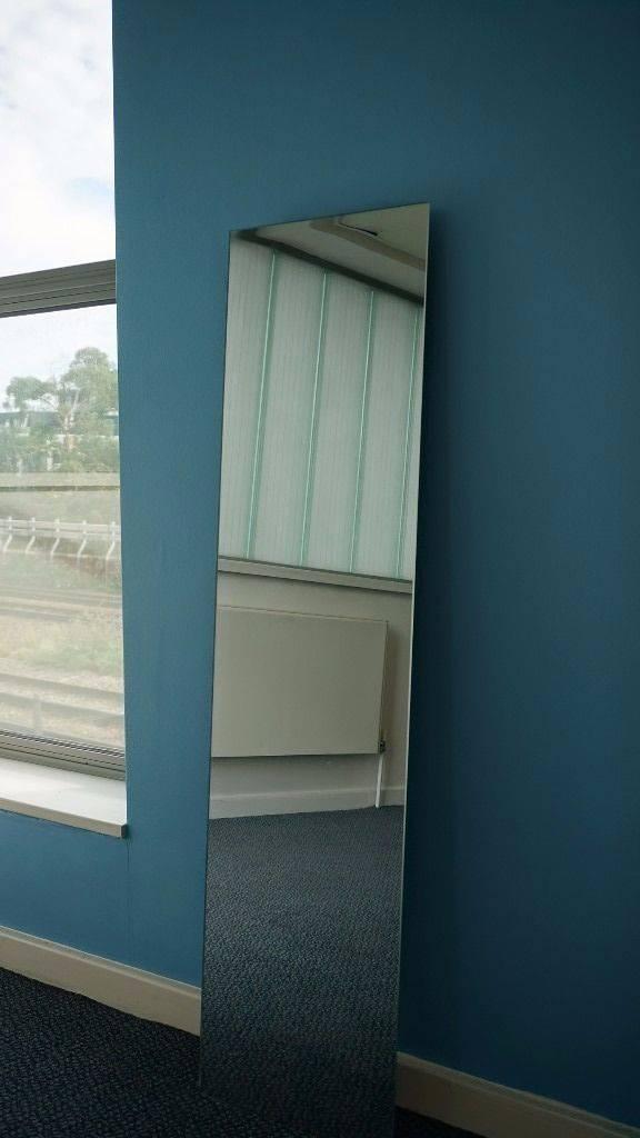 Home Full Length Frameless Wall Mirror | In Waterloo, London | Gumtree Intended For Full Length Frameless Mirrors (#16 of 20)