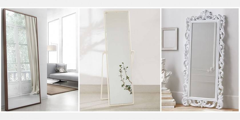Homeware: Simple Floor Length Mirrors For Exciting Home Inside Large Floor Standing Mirrors (#11 of 20)