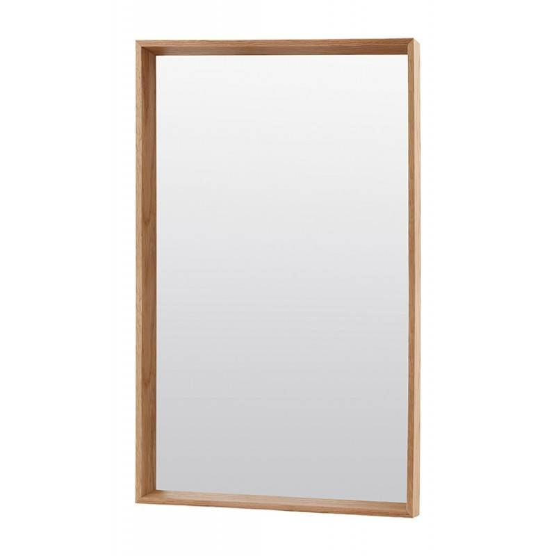 House Doctor – Oak Mirror – Large Intended For Large Oak Mirrors (View 8 of 20)