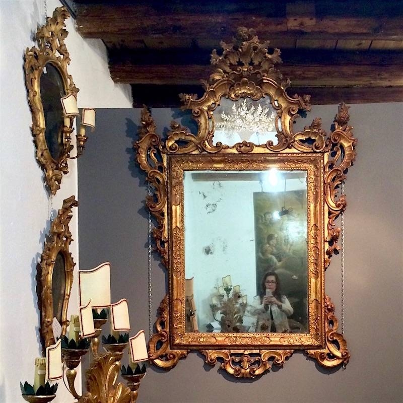 House Of Old Things Venetian Mirror Gold Frame – Laurel Home Inside Gold Venetian Mirrors (#8 of 20)