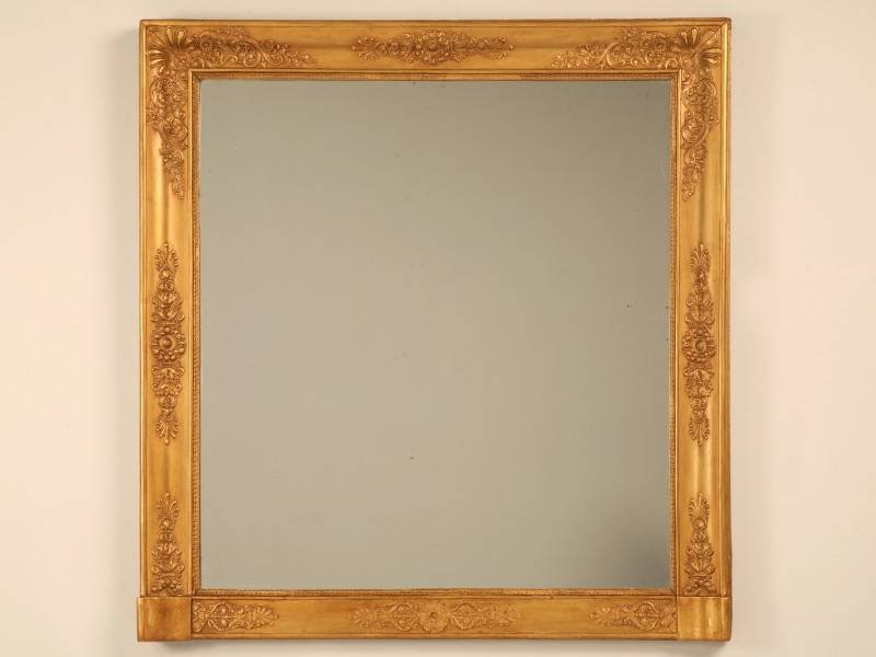 How To Care For Antique Gilt Mirrors – Old Plank Blog For Gilt Mirrors (#10 of 20)
