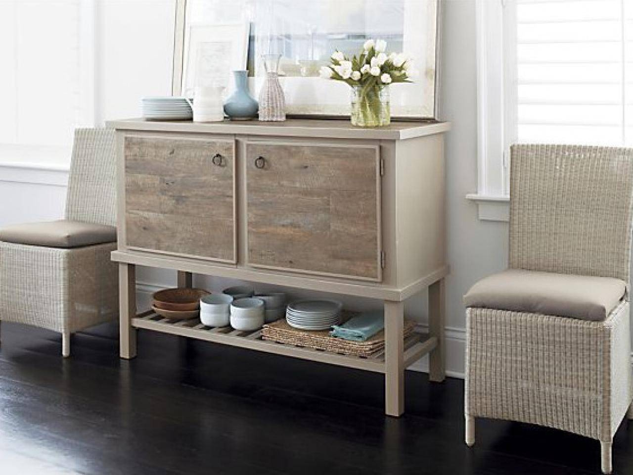 How To Distress Furniture | Hgtv For Distressed Wood Sideboard (View 4 of 20)