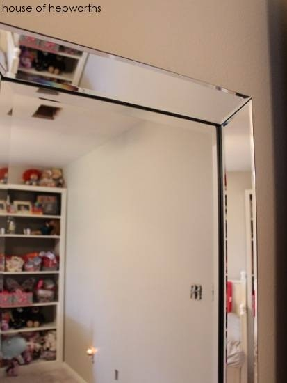 How To Hang A Heavy Full Length Leaner Mirror On The Wall In Beveled Full Length Mirrors (#15 of 20)