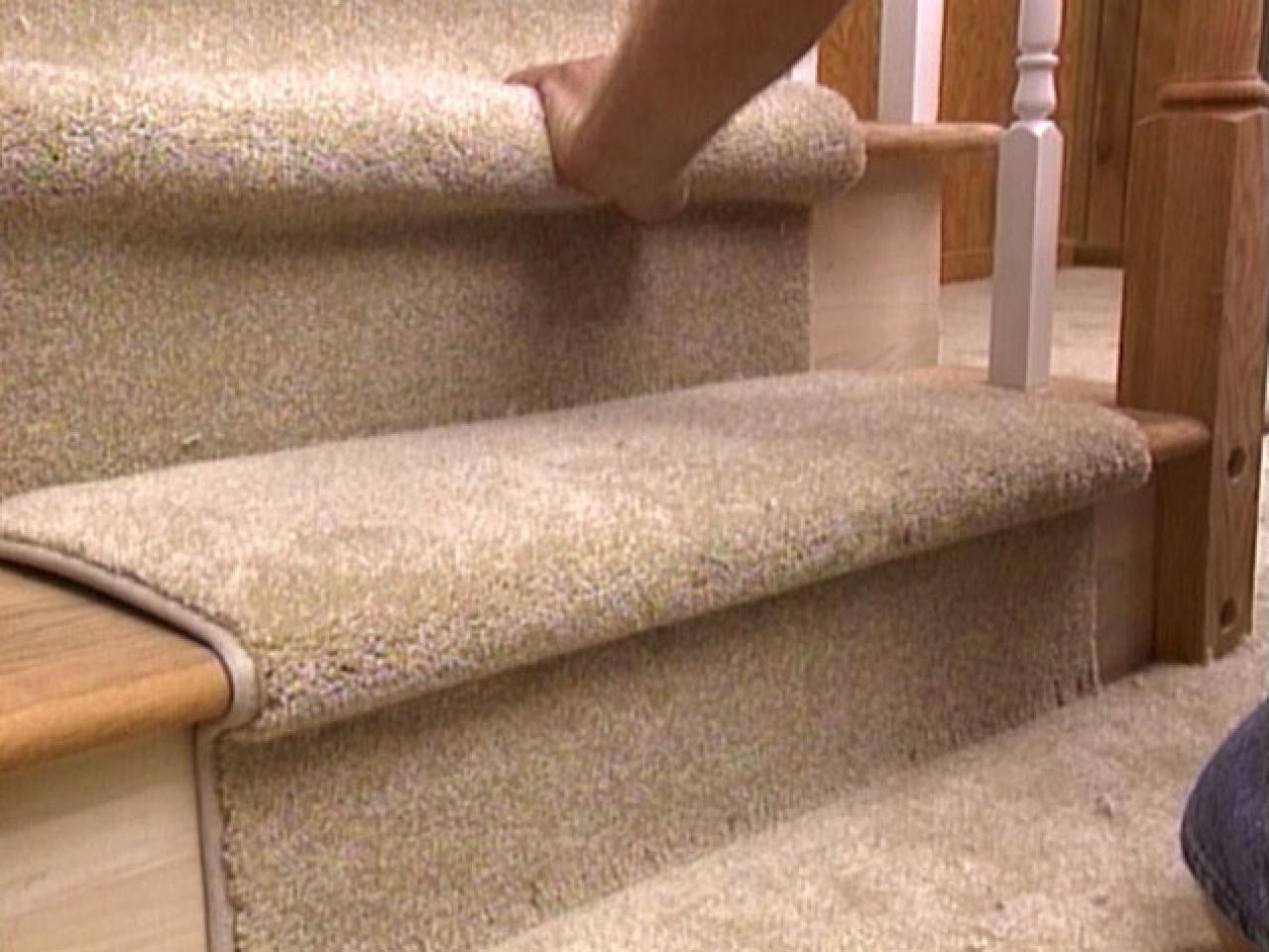 How To Install A Carpet Runner On Stairs Hgtv With Regard To Rug Runners For Stairs (#8 of 20)