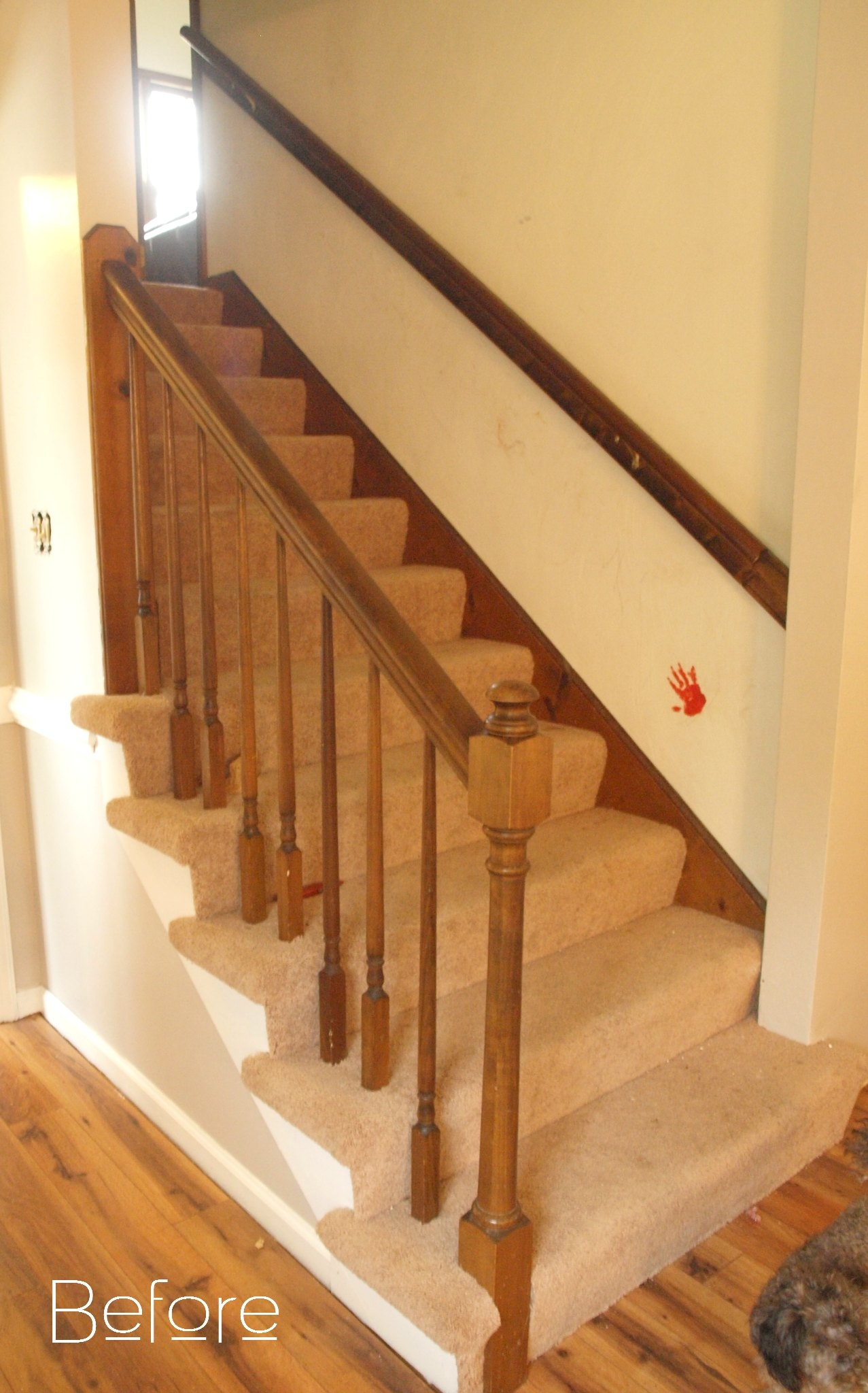 How To Make Wood Stairs Treads For Cheap Simply Swider Intended For Carpet Treads For Hardwood Stairs (#14 of 20)
