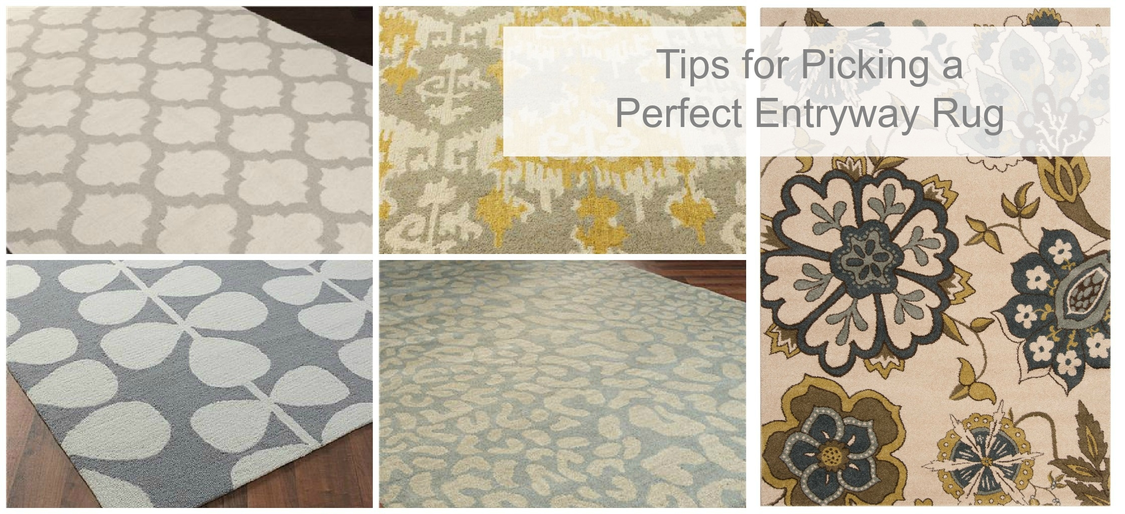 How To Pick The Perfect Entryway Rug Tauni Co Inside Rug Runners For Entryways (#16 of 20)