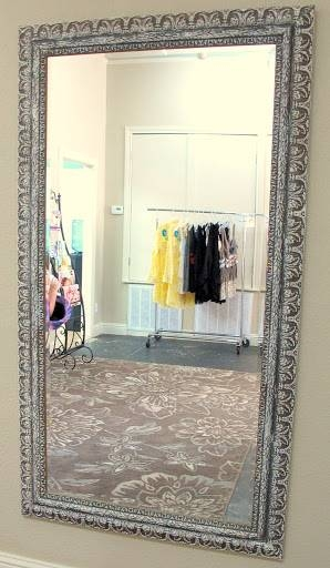How To Update And Revamp Large Mirrors In Minutes Pertaining To Big Silver Mirrors (#11 of 20)