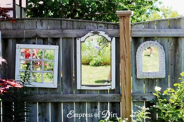How To Use Mirrors In The Garden – Empress Of Dirt In Garden Window Mirrors (#15 of 20)