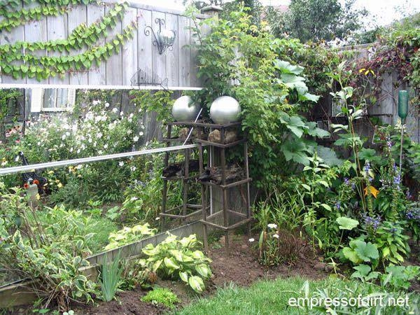 How To Use Mirrors In The Garden – Empress Of Dirt Regarding Garden Mirrors (#23 of 30)
