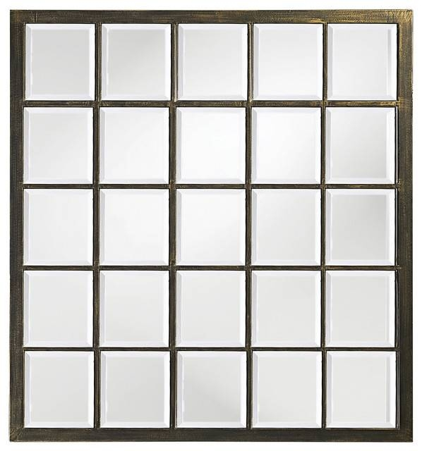 Howard Elliott Superior Window Mirror – Contemporary – Wall Inside Window Mirrors (#16 of 30)