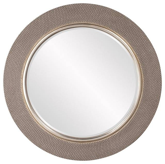 Howard Elliott Yukon Champagne Silver Mirror 53051, – Contemporary With Champagne Silver Mirrors (#8 of 15)