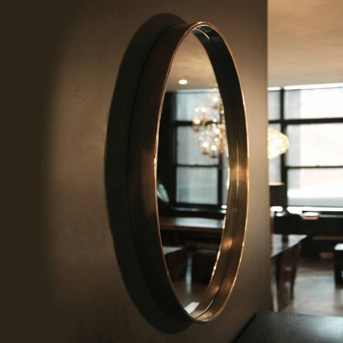 Hudson Furniture, Sculptures Accessories, Bronze Mirror Flat Throughout Large Bronze Mirrors (#22 of 30)