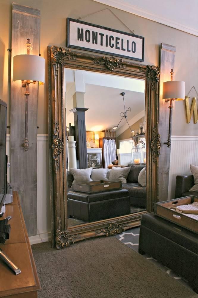 Huge Floor Length Mirror With Oversized Leaning Floor Mirror Inside Huge Floor Mirrors (#20 of 30)