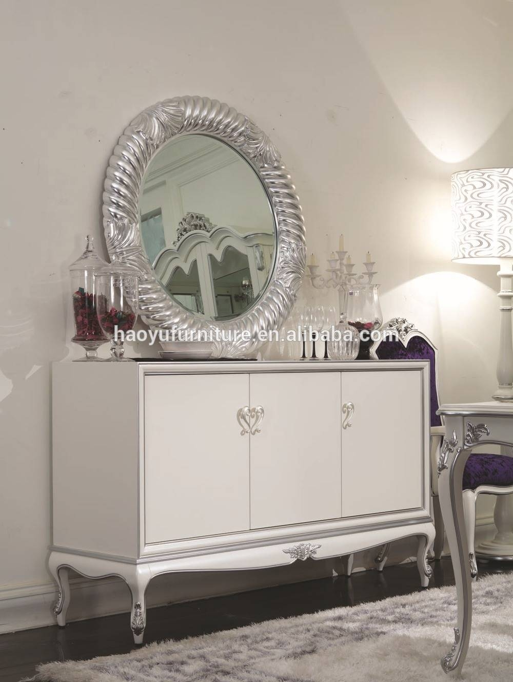 Hyb3052 Black Sideboard Black Lacquer Sideboard Black High Gloss For Black High Gloss Sideboards (#14 of 20)