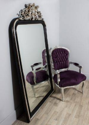 Iconic Black Is Back! – Vintage Vibe With Extra Large Black Mirrors (#24 of 30)