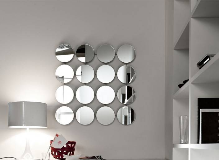 Ideas To Use A Round Mirror In A Large Living Room With Designer Round Mirrors (#14 of 20)