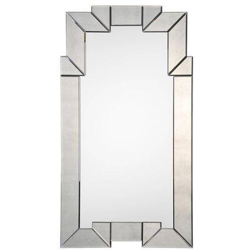 Illusions Silver Mirror Regarding Art Deco Style Mirrors (#15 of 20)