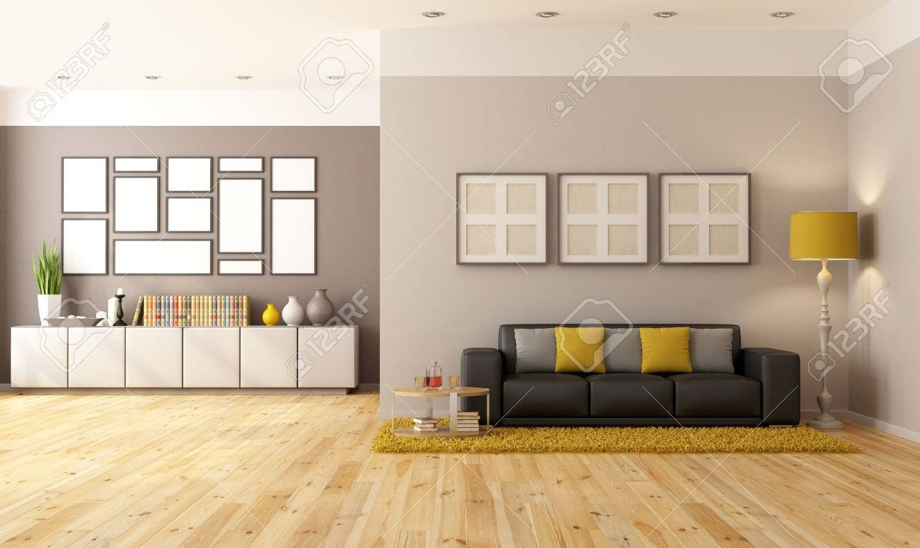Illustration Modern Living Room Sideboard Chair Stock Vector With Regard To Sideboard For Living Room (#11 of 20)