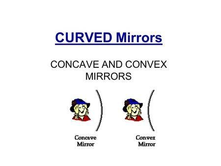 Images In Curved Mirrors All Mirrors Are Not Flat Ppt Download Regarding Curved Mirrors (View 16 of 30)