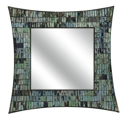 Imax Aramis Mosaic Wall Mirror & Reviews | Wayfair Intended For Mosaic Wall Mirrors (#11 of 20)