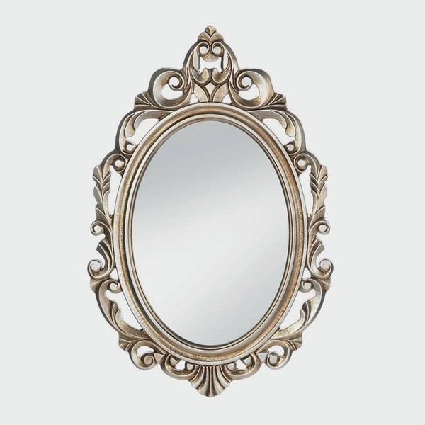 Imperial Regal Gold Oval Wall Mirror – Free Shipping Today Regarding Silver Oval Mirrors (#9 of 20)
