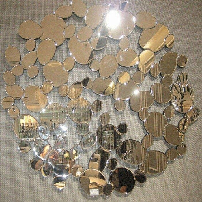 Impressively Unusual Nearly Abstract Concepts In Designing For Unusual Wall Mirrors (#10 of 20)