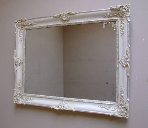 Imw1828 Antique French Crested Mirror – Landscape In French Antique Mirrors (View 23 of 30)