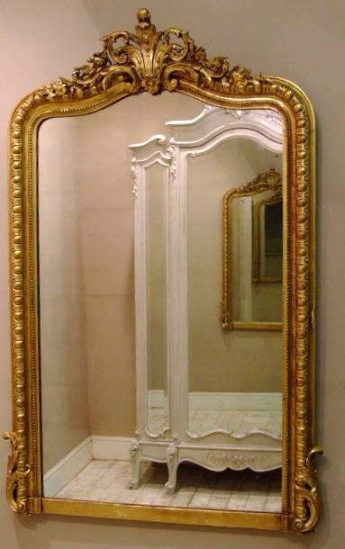 Imw1933 Wonderful Antique French Mirror Throughout Antique Gilded Mirrors (View 10 of 20)