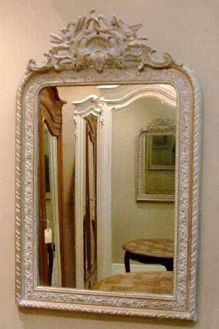 Imw2013 Antique French Crested Mirror – Louis Style With Regard To French Antique Mirrors (View 25 of 30)