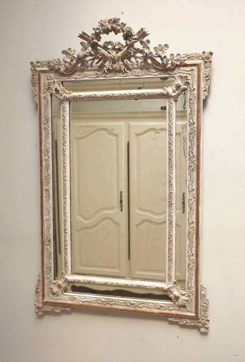 Imw3257 Stunning French Antique Cushion Mirror In Antique French Mirrors (View 5 of 20)